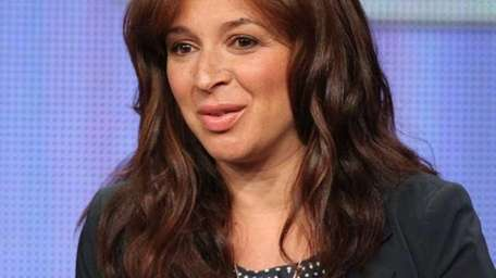 Actress Maya Rudolph speaks during the