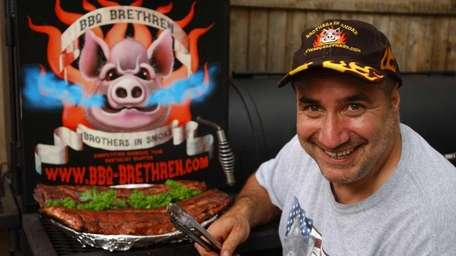 Long Island barbecue champ Phil Rizzardi is also