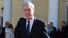 Special counsel Robert Mueller in Washington on March