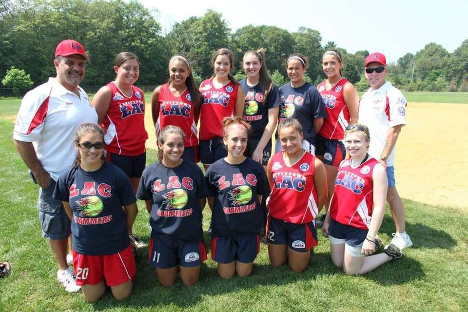 The Levittown Slammers softball team will play in
