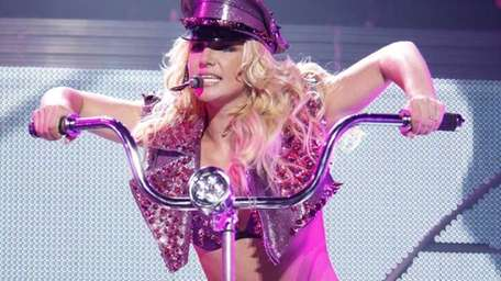 The Britney Spears Femme Fatale Tour played at