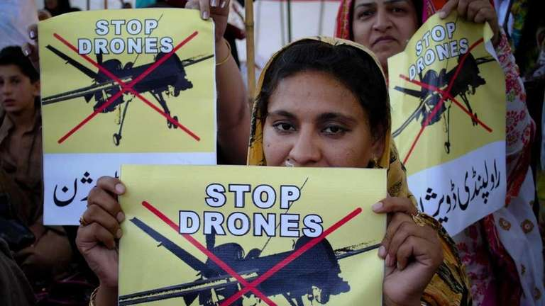 In this April 23, 2011, Pakistan women take