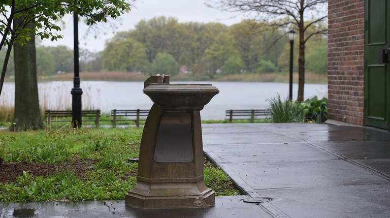The city will begin screening drinking fountains in
