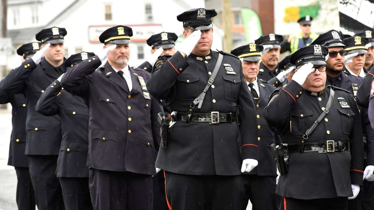 Eighty law enforcement officers who died on duty