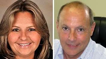 Patricia Zamparelli and Steven Chinich.