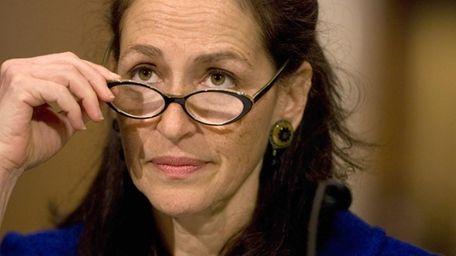 Food and Drug Administration Commissioner Margaret Hamburg.