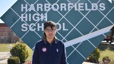 Bryan Hyun, a junior at Harborfields High School