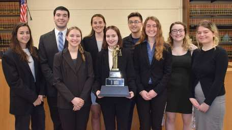 A Northport High School team won first place