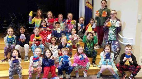 Twenty-four students in Setauket Elementary School's School Age