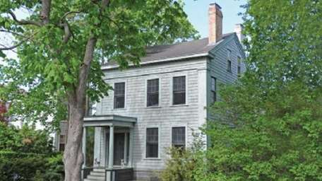 An 1840s Egyptian revival home in Sag Harbor