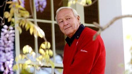 Arnold Palmer: Golf's most charismatic figure, won seven