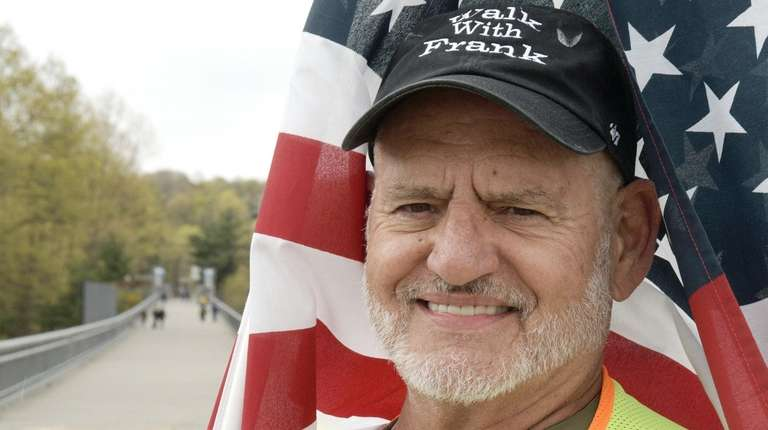 Vietnam veteran Frank Romeo, 70, from Bay Shore,