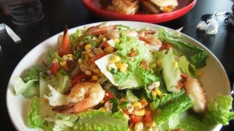Shrimp BLT salad at Classic American