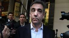 Michael Cohen, former personal lawyer to President Donald