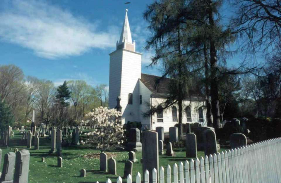 The Caroline Church of Brookhaven in Setauket was