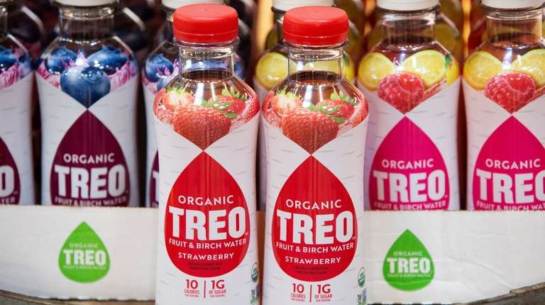 Treo Fruit & Birch Water, seen Friday at
