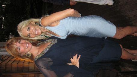 Jill Zarin and Andrea Wernick