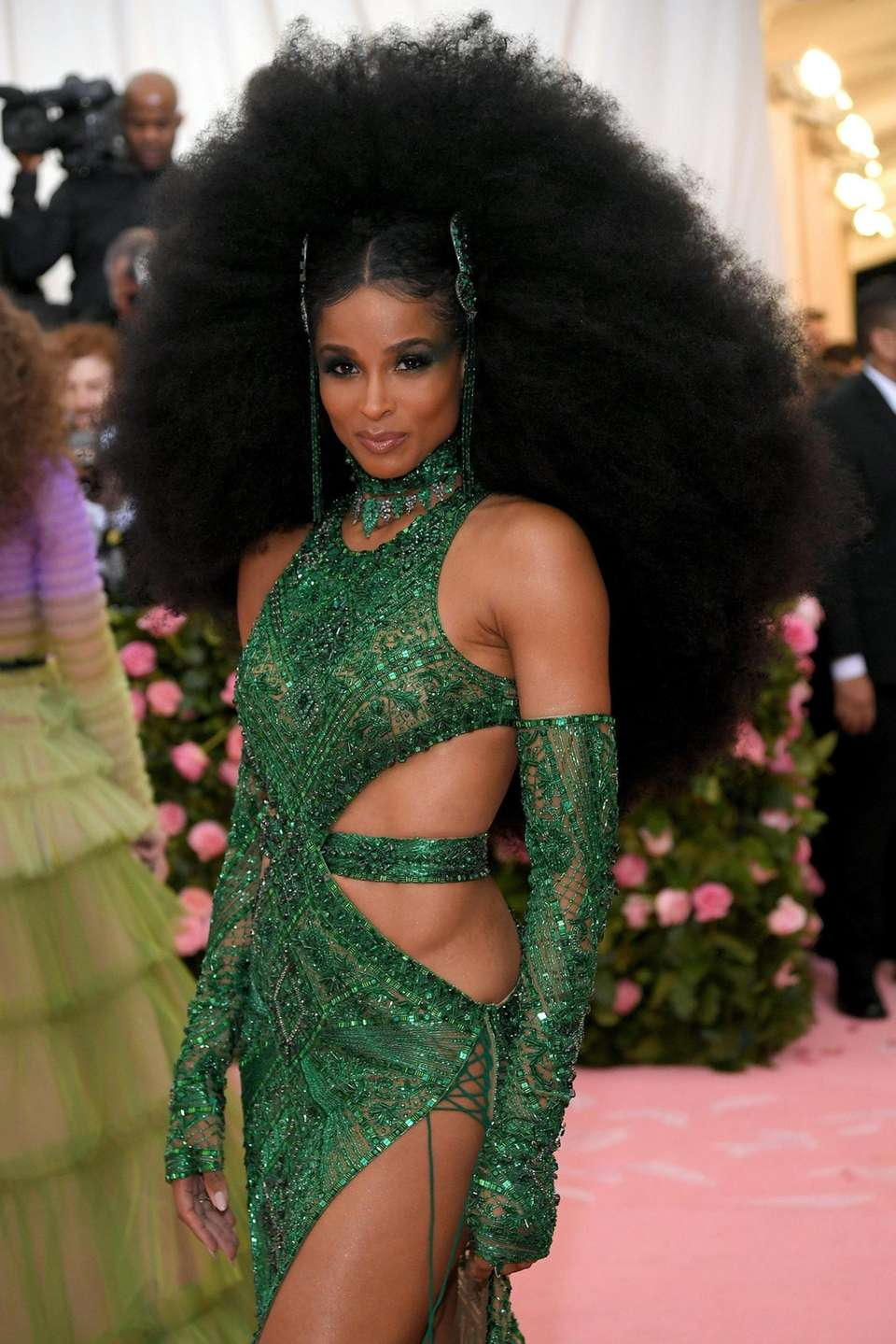 Ciara attends The 2019 Met Gala Celebrating Camp: