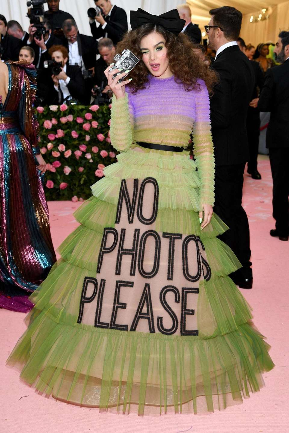 Actress and singer Hailee Steinfeld attends The 2019