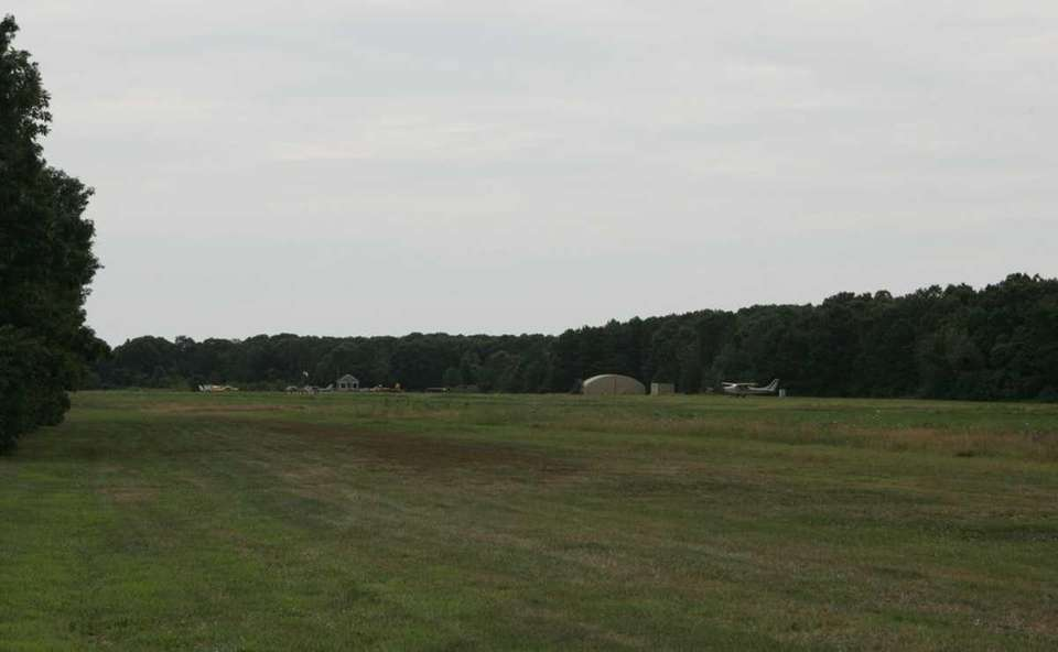 The Bayport Aerodrome, which is owned by the