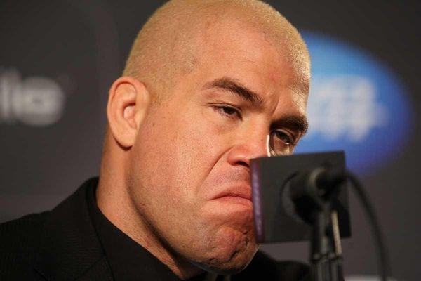 Former UFC light heavyweight champion Tito Ortiz speaks
