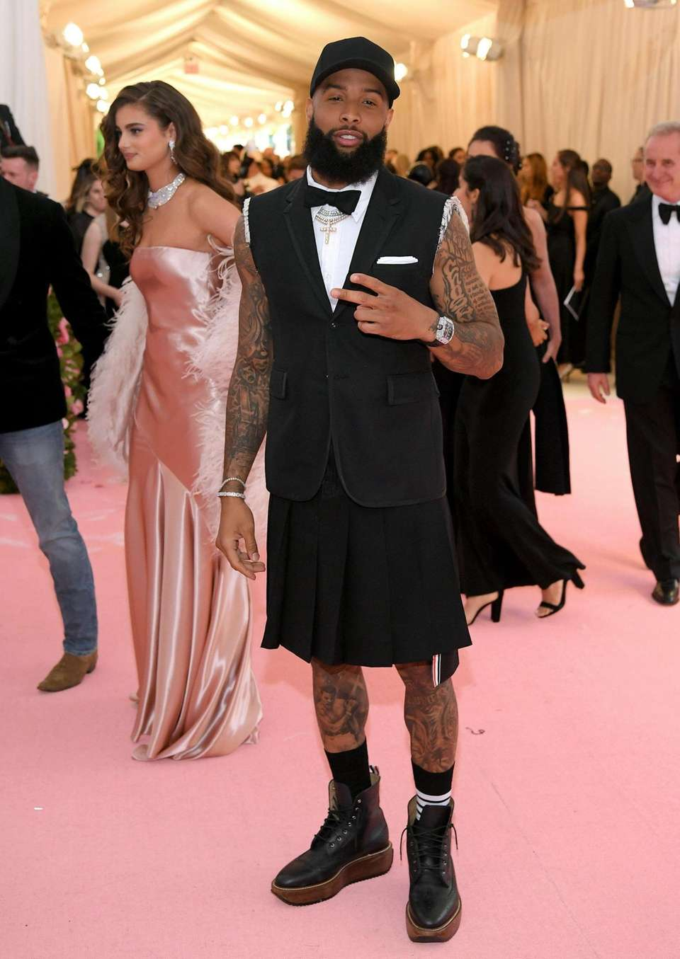 Odell Beckham Jr. attends The 2019 Met Gala