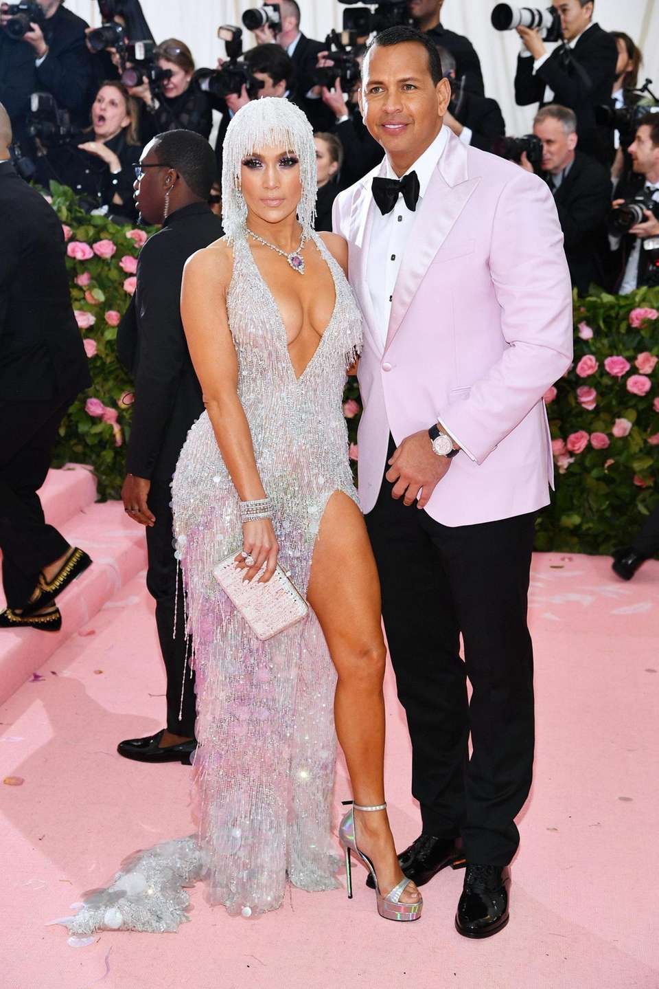 Jennifer Lopez and Alex Rodriguez attend The 2019