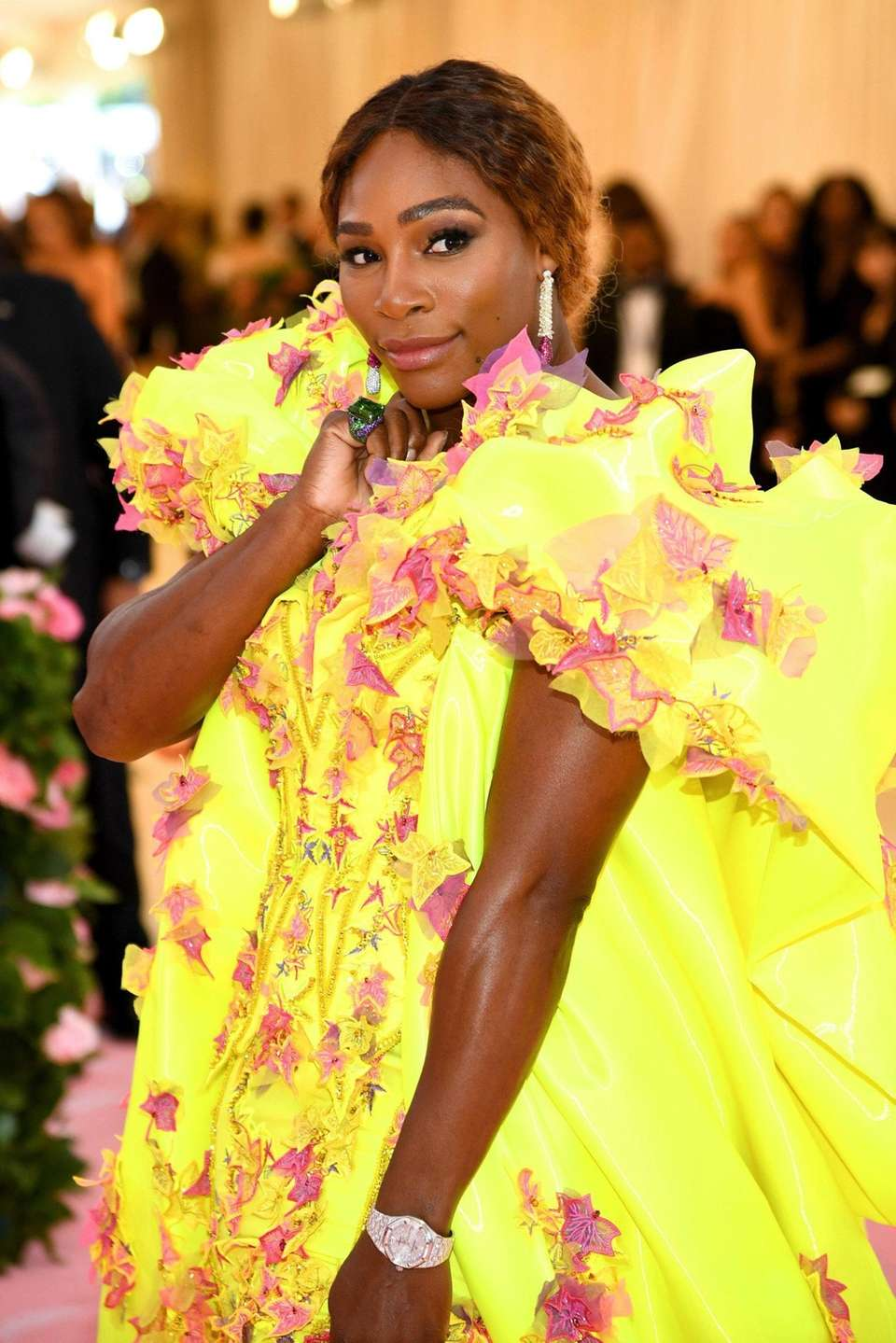 Serena Williams attends The 2019 Met Gala Celebrating