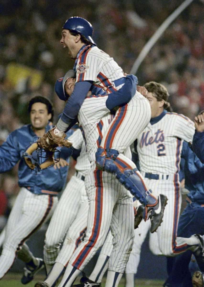 1986 METS Record: 108-54 Manager: Davey Johnson Won