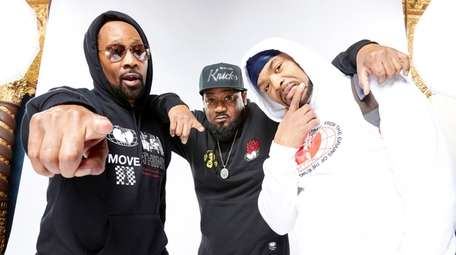 RZA, left, Ghostface Killah and Method Man in