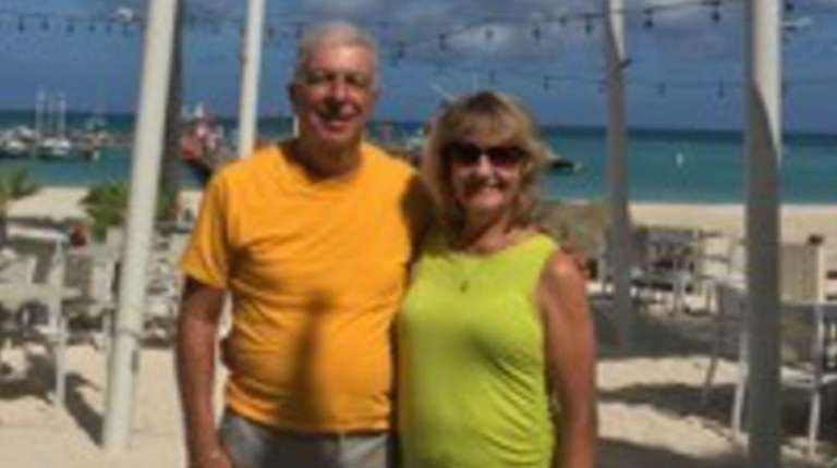 Jack and Diane Gaglione of Farmingdale on a