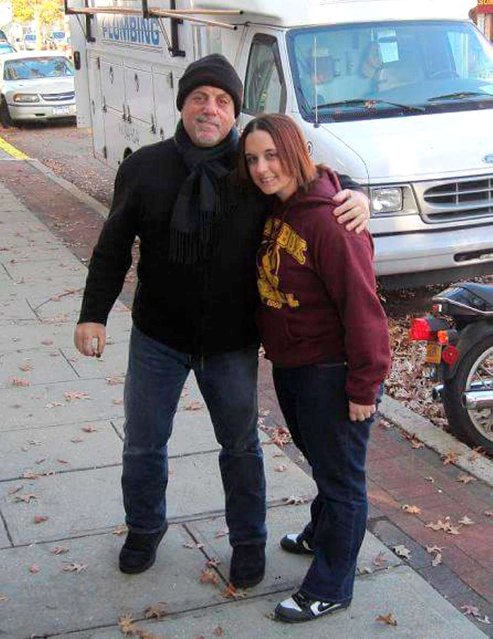 Jill Loddo, 30, of Lindenhurst met Billy Joel