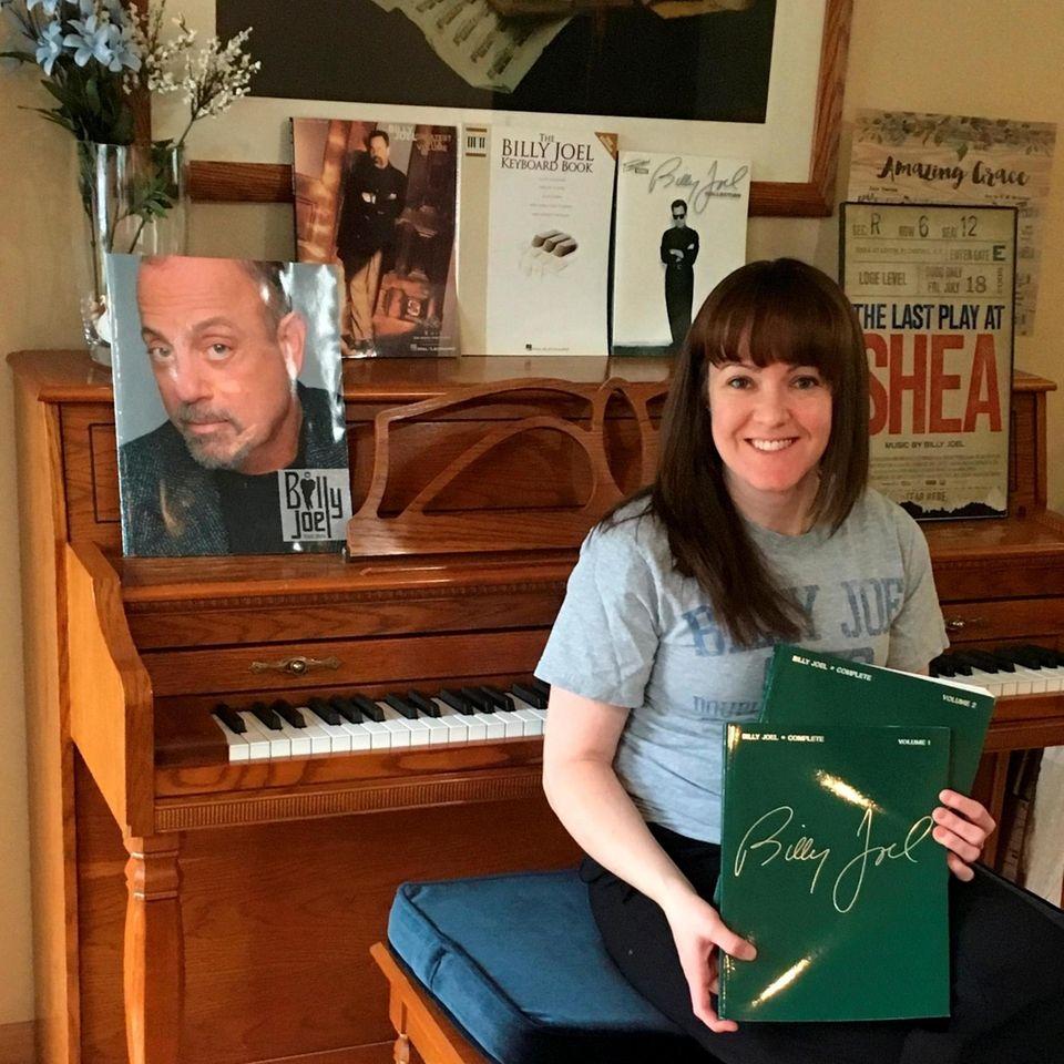 Piano teacher Samantha Schroder, 33, of Roslyn Heights