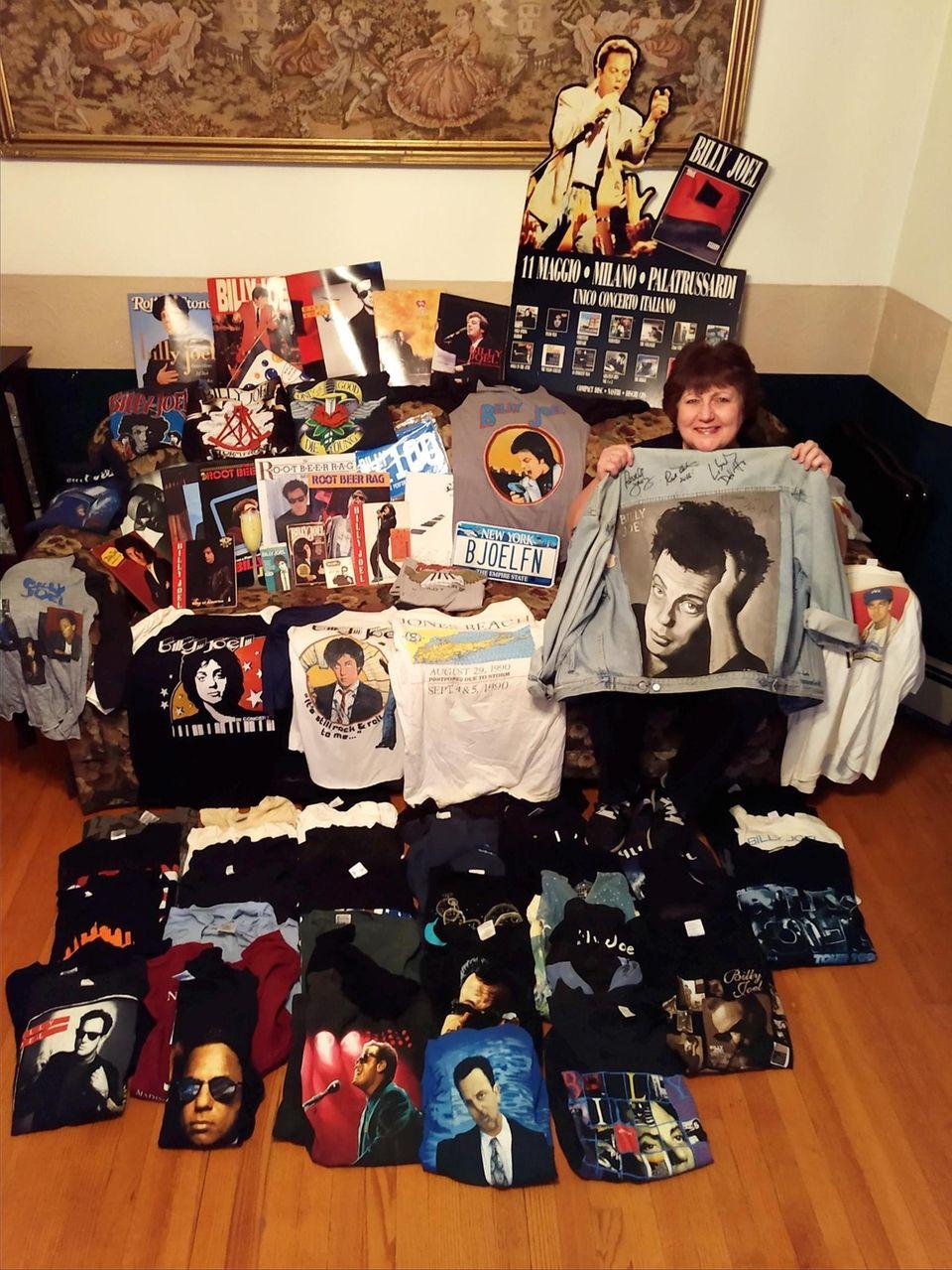 Billy Joel fan Maureen Smith, 58, of Lynbrook
