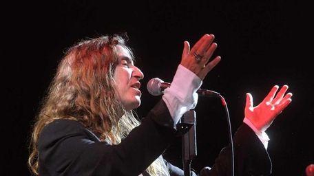 Patti Smith performs at Escape to New York