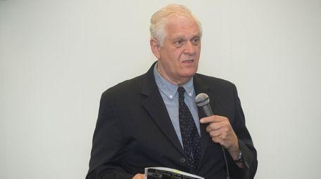 NY State Assembly member Steve Englebright spoke during