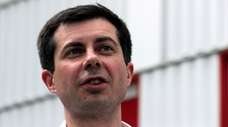 Democratic presidential candidate South Bend Mayor Pete Buttigieg