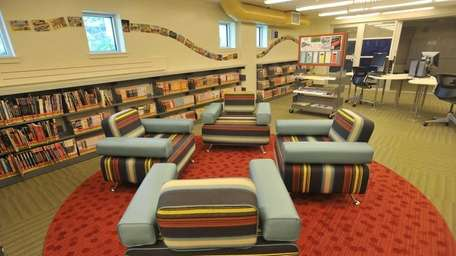 The Underground section for teens is furnished with