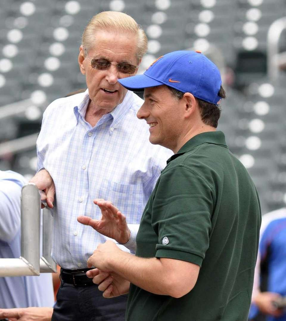 Mets co-owner Fred Wilpon and prospective partner David
