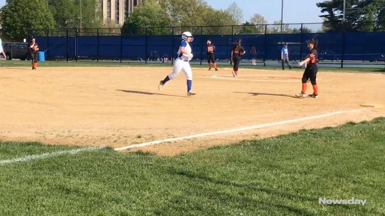 East Meadow defeated Hicksville, 16-2, in a Nassau