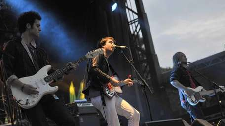 The Vaccines perform during the Escape to New