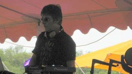 Andy Rourke DJs the main tent at Escape