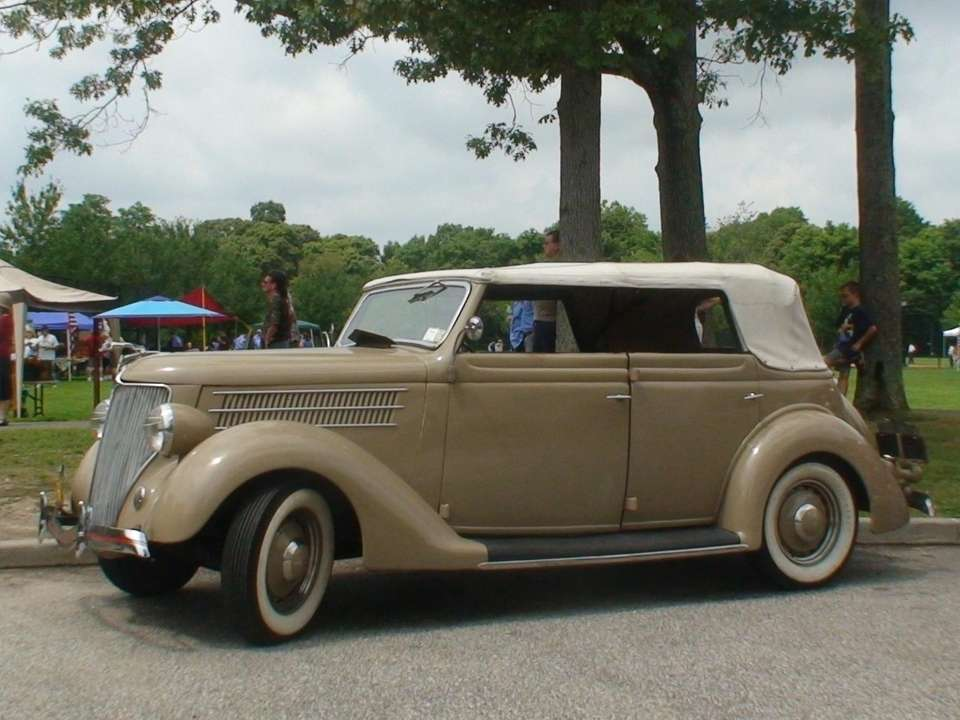 1936 Ford Convertible Owner: Roger Yackel Huntington Fun