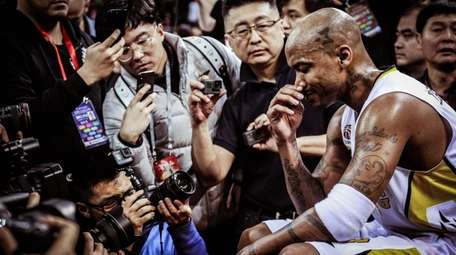 Stephon Marbury in a scene from the documentary