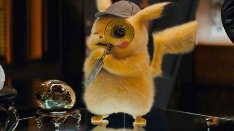 "Ryan Reynolds voices Detective Pikachu  in ""Pokemon"