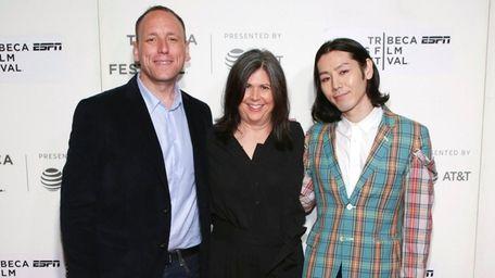 Documentary subjects Joey Chestnut, left, Takeru Kobayashi, right,