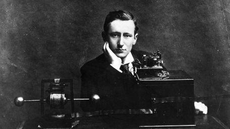 Italian electrical engineer and nobel laureate Guglielmo Marconi
