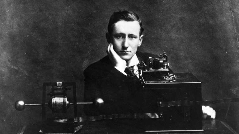 Italian electrical engineer and nobel laureate Guglielmo Marconi