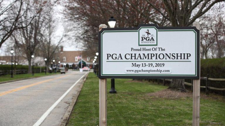 The PGA Championship continues through Sunday at Bethpage