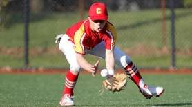 Sawyer Duarte #4 of the Chaminade Flyers makes